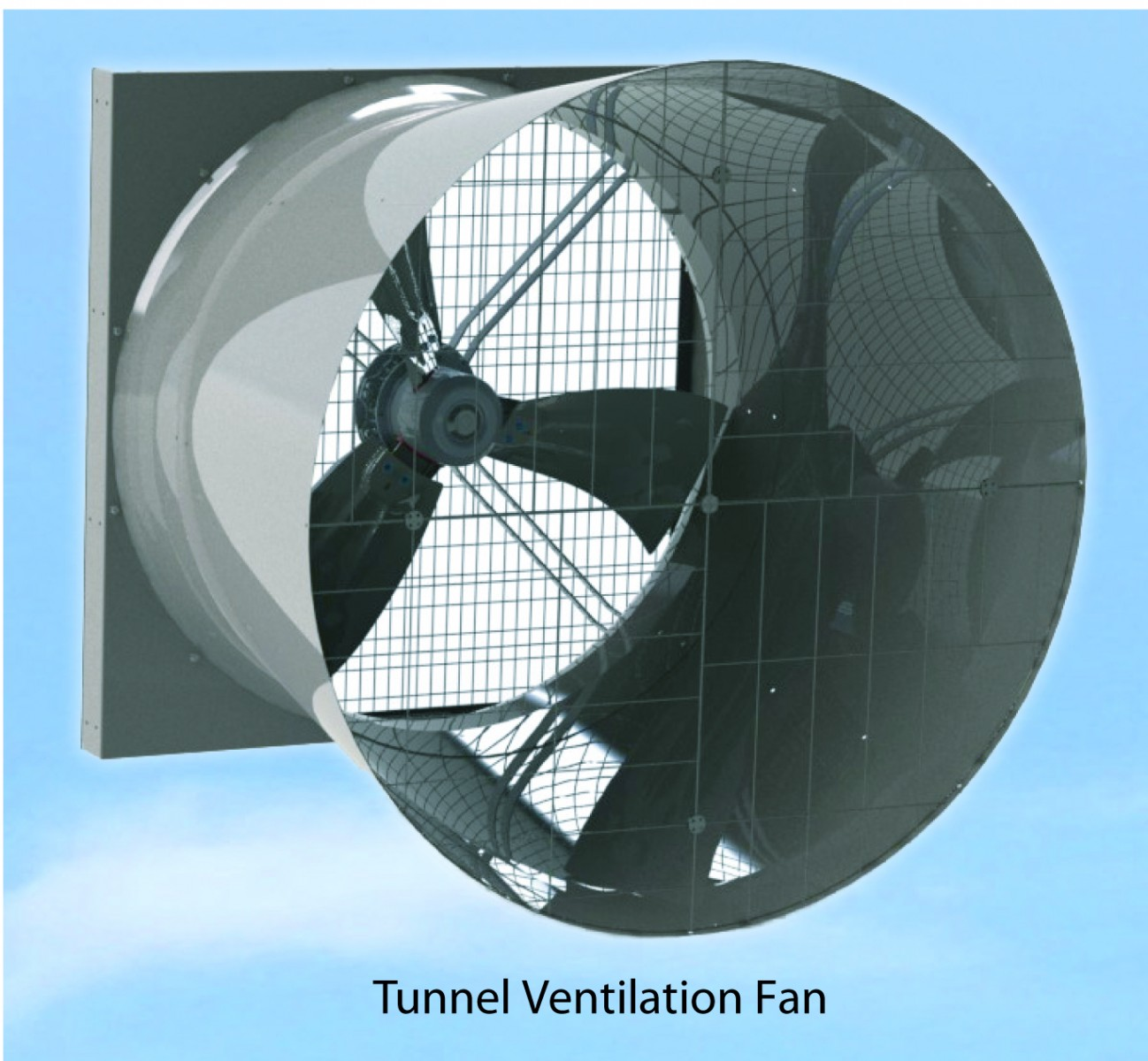 Tunnel Ventilation Fans : Protective fabrications ebm papst